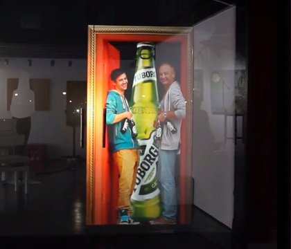 Video Escaparate para Tuborg